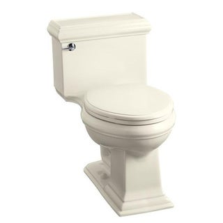 Kohler Memoirs Comfort Height 1-piece Classic Elongated Almond Toilet
