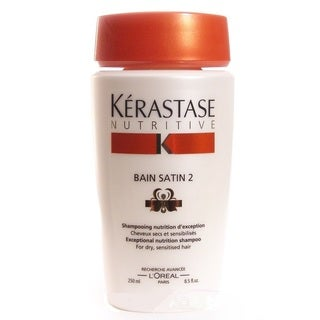 Kerastase Nutritive Bain Satin 2 Irisome 8.5-ounce Shampoo