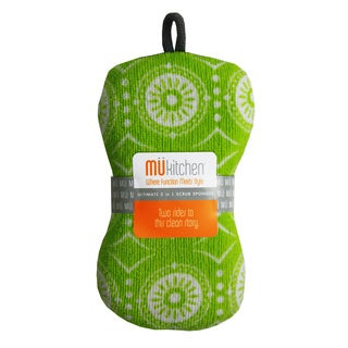 MUkitchen Marrakesh Green Scrub Sponge
