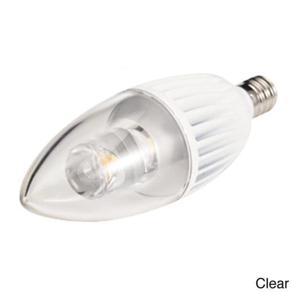 4.5-watt 120-volt B10 Candelabra Base LED Light Bulb - Free Shipping On Orders Over $45 ...