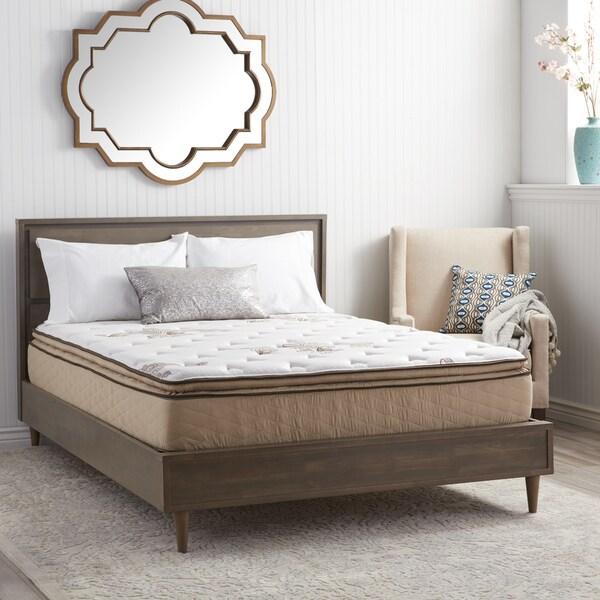 NuForm Quilted Pillow Top 11inch Full XLsize Plush Foam Mattress