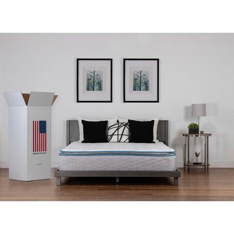 NuForm Quilted Pillow Top 11-inch Queen-size Foam Mattress - N/A