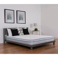 NuForm Quilted Euro Top 9-inch Full XL-size Medium Foam Mattress