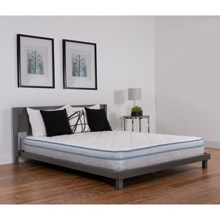 NuForm Quilted Euro Top 9-inch Full XL-size Medium Foam Mattress - N/A