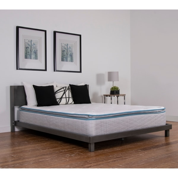 NuForm Quilted Pillow Top 11-inch Twin XL-size Plush Foam Mattress - White