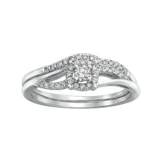 14k White Gold 1/3ct TDW Bridal Engagement Halo Ring Set|https://ak1.ostkcdn.com/images/products/8931428/P16146454.jpg?impolicy=medium