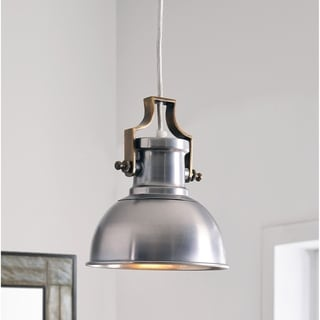 Camden Antique Nickel Finsih 1-light Mini Pendant