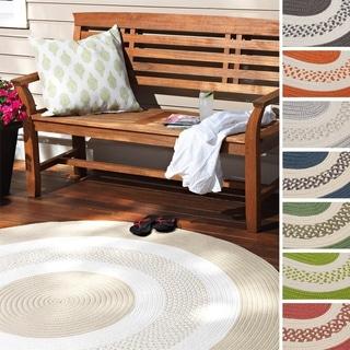 Hampton Fade-resistant Indoor/ Outdoor Braided Rug (2' x 3') - 2' x 3'