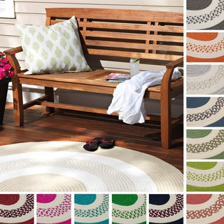 Hampton Fade-resistant Indoor/ Outdoor Braided Rug (5' x 7')