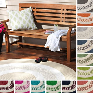 Hampton Fade-Resistant Indoor/Outdoor Braided Reversible Rug USA MADE - 5' x 7'