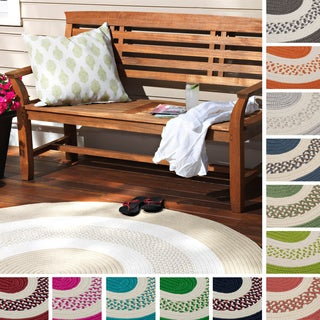 Hampton Fade-resistant Indoor/Outdoor Braided Reversible Rug USA MADE - 6' x 9'