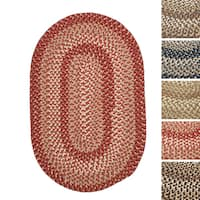 Weston Indoor/ Outdoor Braided Reversible Rug USA MADE (6' x 9')