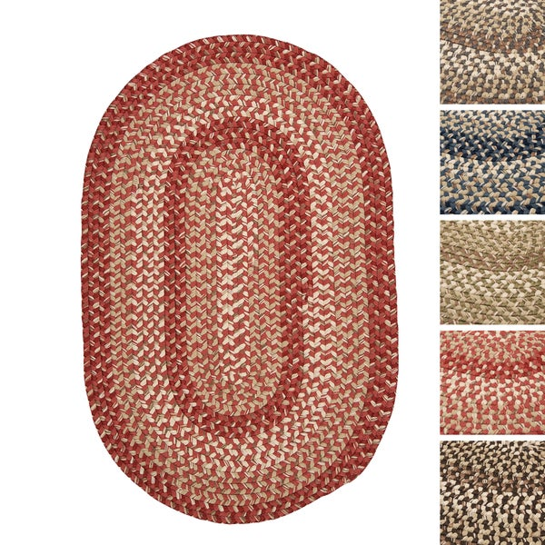 Weston Indoor/Outdoor Braided Reversible Rug USA MADE - 8' x 10'