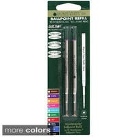 Mont Blanc Ball Point Medium Point Pen Refills (Pack of 2)
