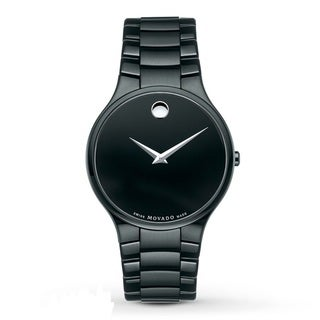Movado Men's 'Serio' Black PVD Watch