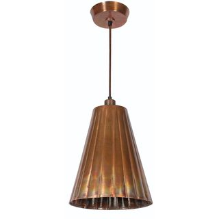 Lillie 1-light Flamed Copper Pendant