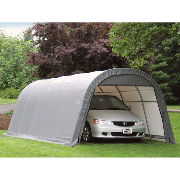 Small Car Shelter : Shelterlogic round car shelter free shipping today