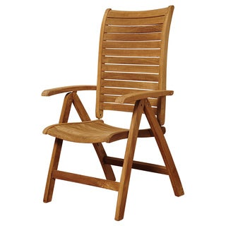 Amazonia Teak Bordeuax Teak Multi-position Chair
