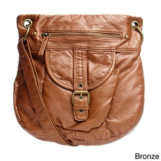 Bueno Buckle Accent Crossbody Bag