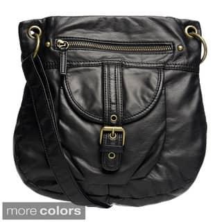 Bueno Buckle Accent Crossbody Bag https://ak1.ostkcdn.com/images/products/8931787/Bueno-Buckle-Accent-Crossbody-Bag-P16146705.jpg?impolicy=medium