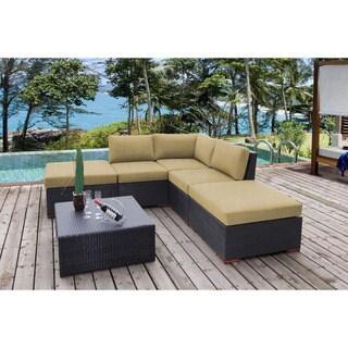 Andover 6-piece Corner Sectional Set - Sunbrella Fabric