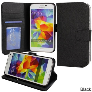 Abacus24-7 Samsung Galaxy S5 G900 PocketBook Wallet Case Cover