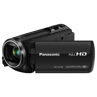 "Panasonic HC-V250 Digital Camcorder - 2.7"" LCD - BSI MOS - Full HD -"