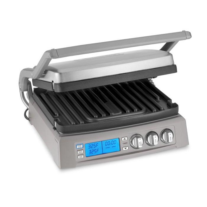 Cuisinart GR-300WS Griddler Elite, Silver (Metal)