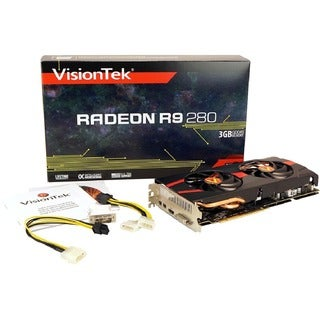 Visiontek Radeon R9 280 Graphic Card - 3 GB GDDR5 - PCI Express