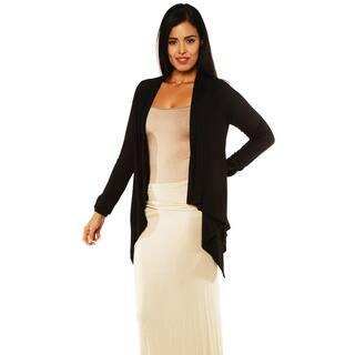 24/7 Comfort Apparel Women's Long-sleeve Asymmetrical Shrug|https://ak1.ostkcdn.com/images/products/8932154/24-7-Comfort-Apparel-Womens-Long-sleeve-Asymmetrical-Shrug-P16146945.jpg?impolicy=medium