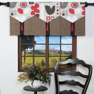 Modern Geometric Single Valance Panel