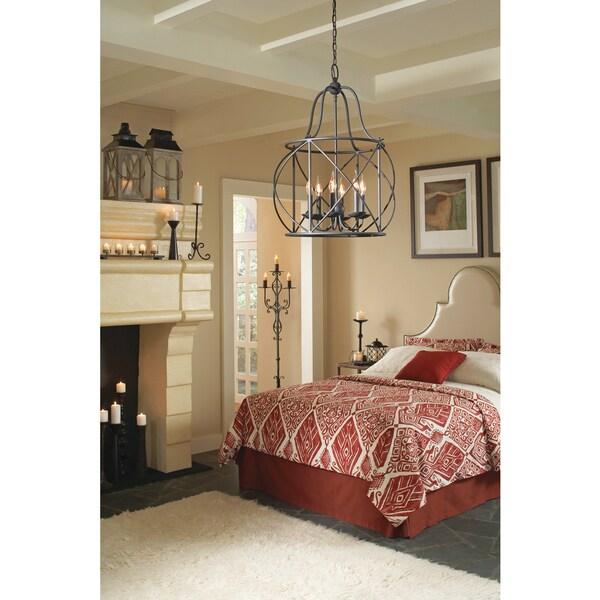 Foyer Lighting Overstock : Turbinio light blacksmith hall foyer lantern free