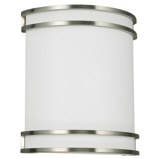 Lines 2-light Quad-pin Brushed Nickel ADA-certified Wall Sconce