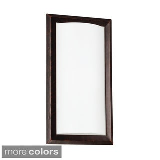 Plate Style 1-light ADA-approved Wall Sconce