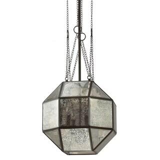 Lazlo Medium 4-light Heirloom Bronze/ Mercury Glass Pendant