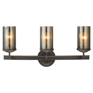Sfera 3-light Autumn Bronze/ Mercury Glass Vanity