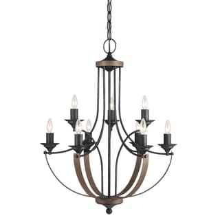 Corbeille 9-light Stardust Chandelier