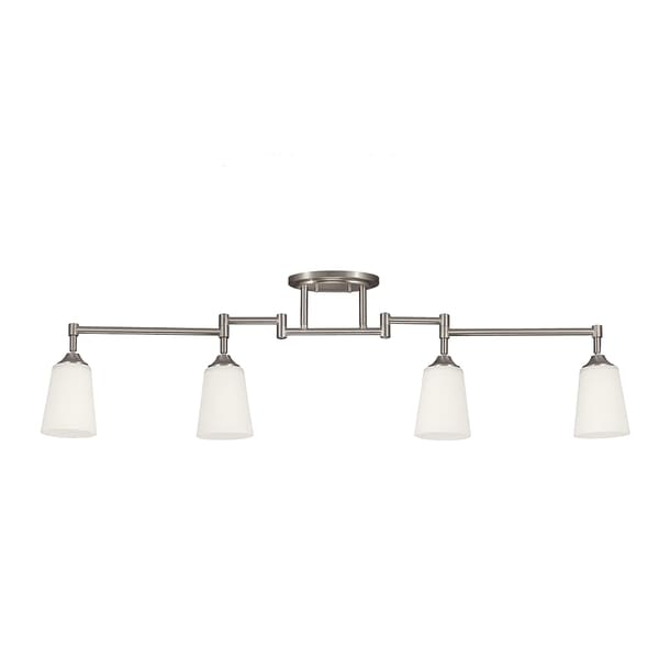 Track 4 Light Brushed Nickel Lighting Kit