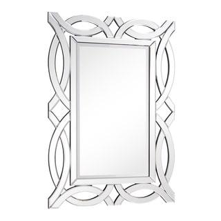 Somette Rectangular Arch Modern Wall Mirror