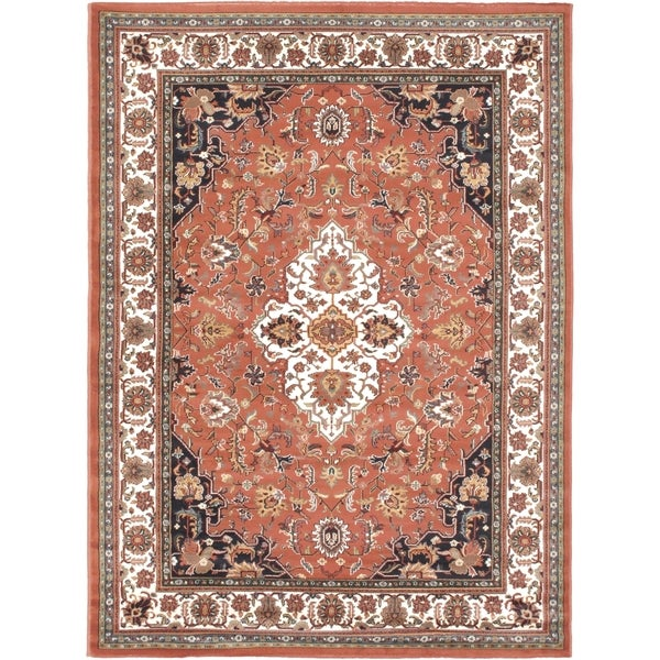 "Medallion Copper Area Rug (5'6"" x 7'6"")"