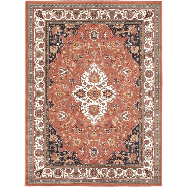 "Medallion Copper Area Rug - 5'6"" x 7'6"""