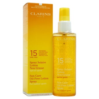 Clarins Sun Care Oil-free SPF 15 Lotion Spray