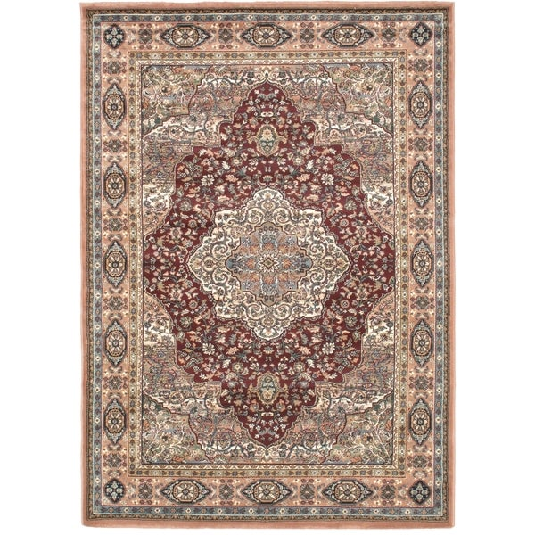 "Medallion Copper Area Rug (5'6"" x 7'8"") - 5'6"" x 7'8"""