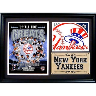 MLB New York Yankees Greats Photo Stat Frame