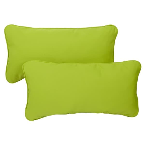 outdoor lumbar pillows target blue macaw green corded indoor fabric set walmart
