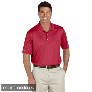 Ashworth Men's Performance Interlock Solid Polo Shirt