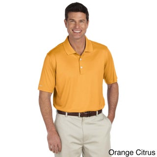 Ashworth Men's Performance Interlock Solid Polo Shirt