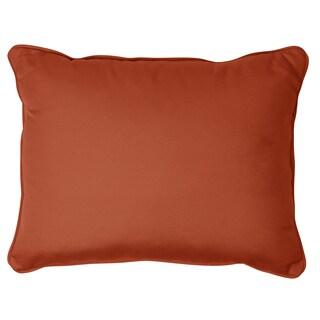 Rust Corded Indoor/ outdoor 13 x 20-inch Indoor/ Outdoor Pillows with Sunbrella Fabric (Set of 2)