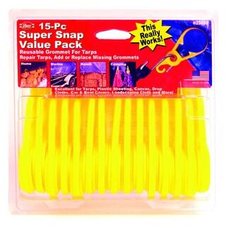 Super Snaps 15-pack Tarp Grommets