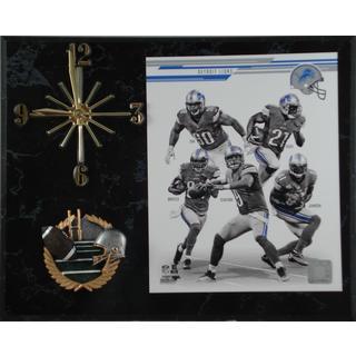 NFL 2013 Detroit Lions Team Photo Clock